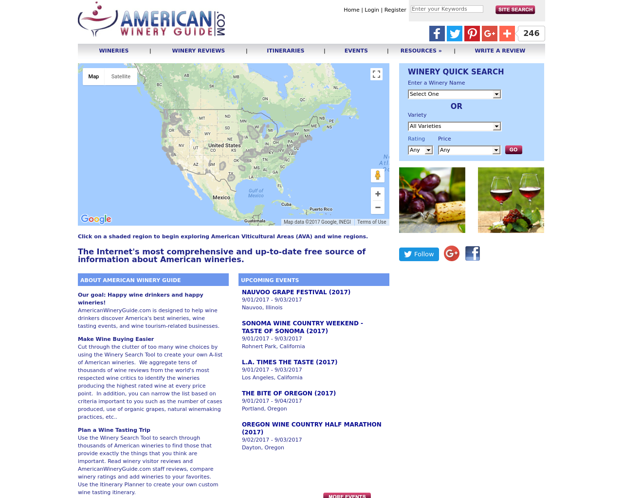 AmericanWineryGuide.com-Advertising-Reviews-Pricing