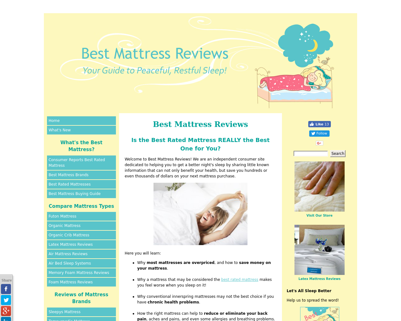 Best-mattress-reviews.com-Advertising-Reviews-Pricing