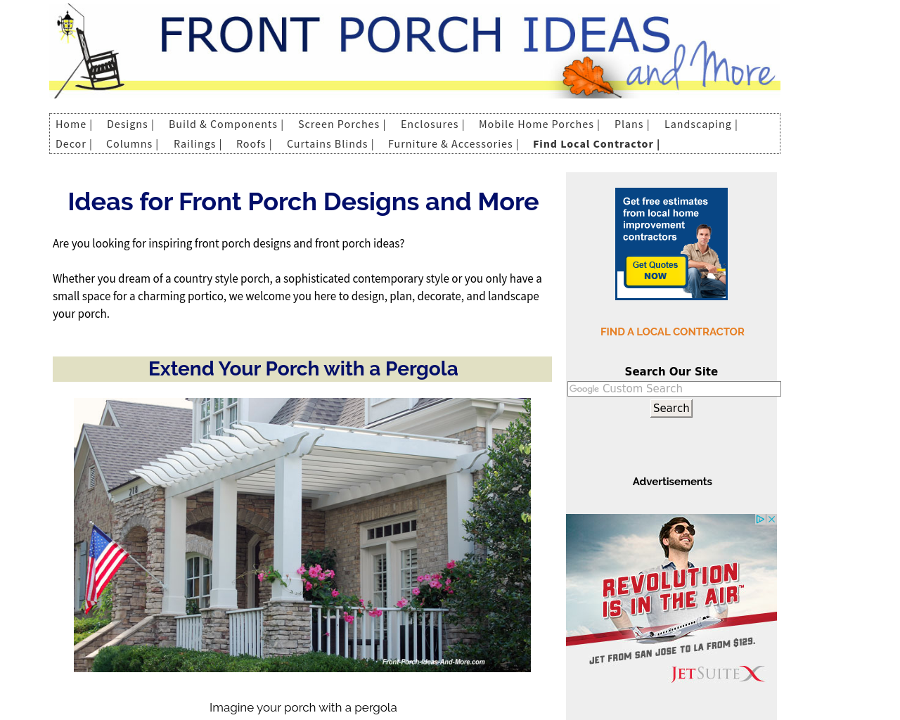 Front-Porch-Ideas-And-More-Advertising-Reviews-Pricing