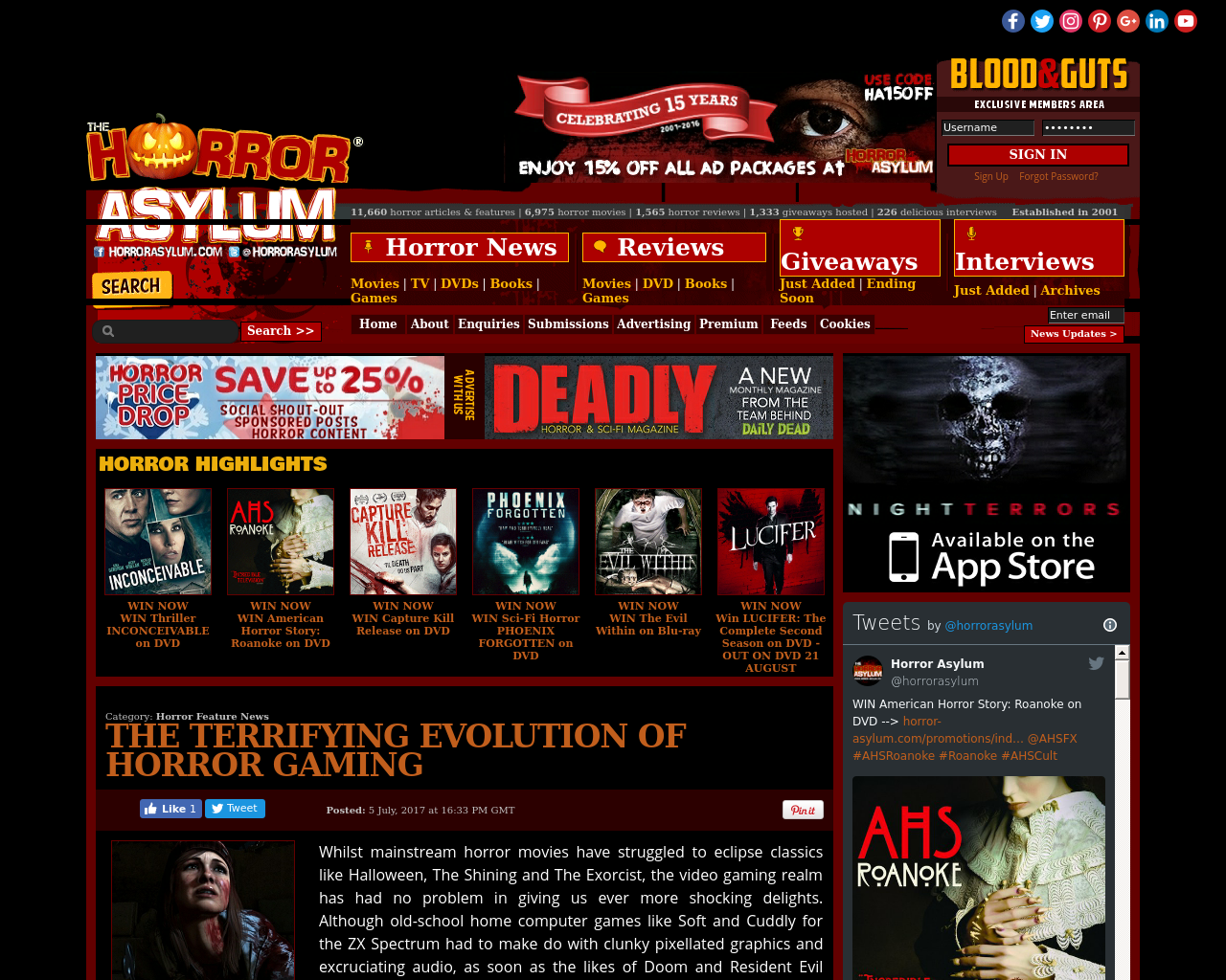 Horror-asylum-Advertising-Reviews-Pricing