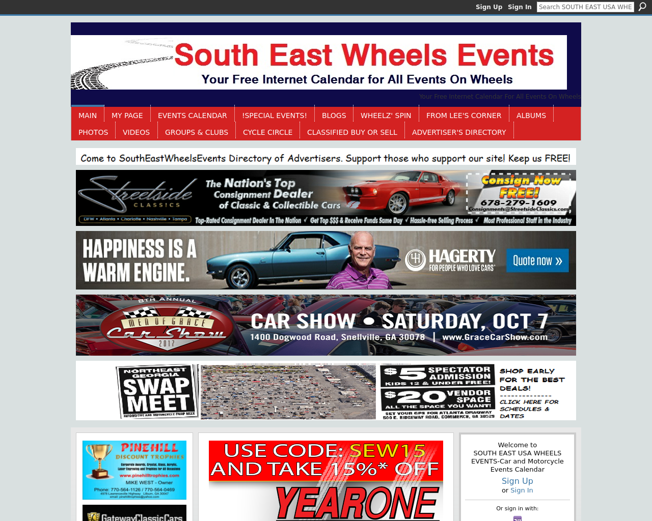 South-East-Wheels-Events-Advertising-Reviews-Pricing