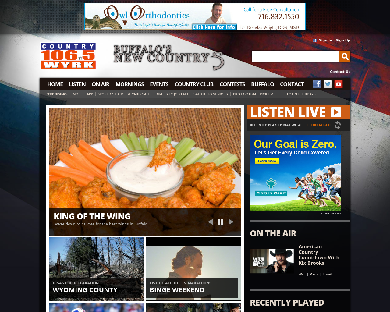 Country-106.5-WYRK-Advertising-Reviews-Pricing