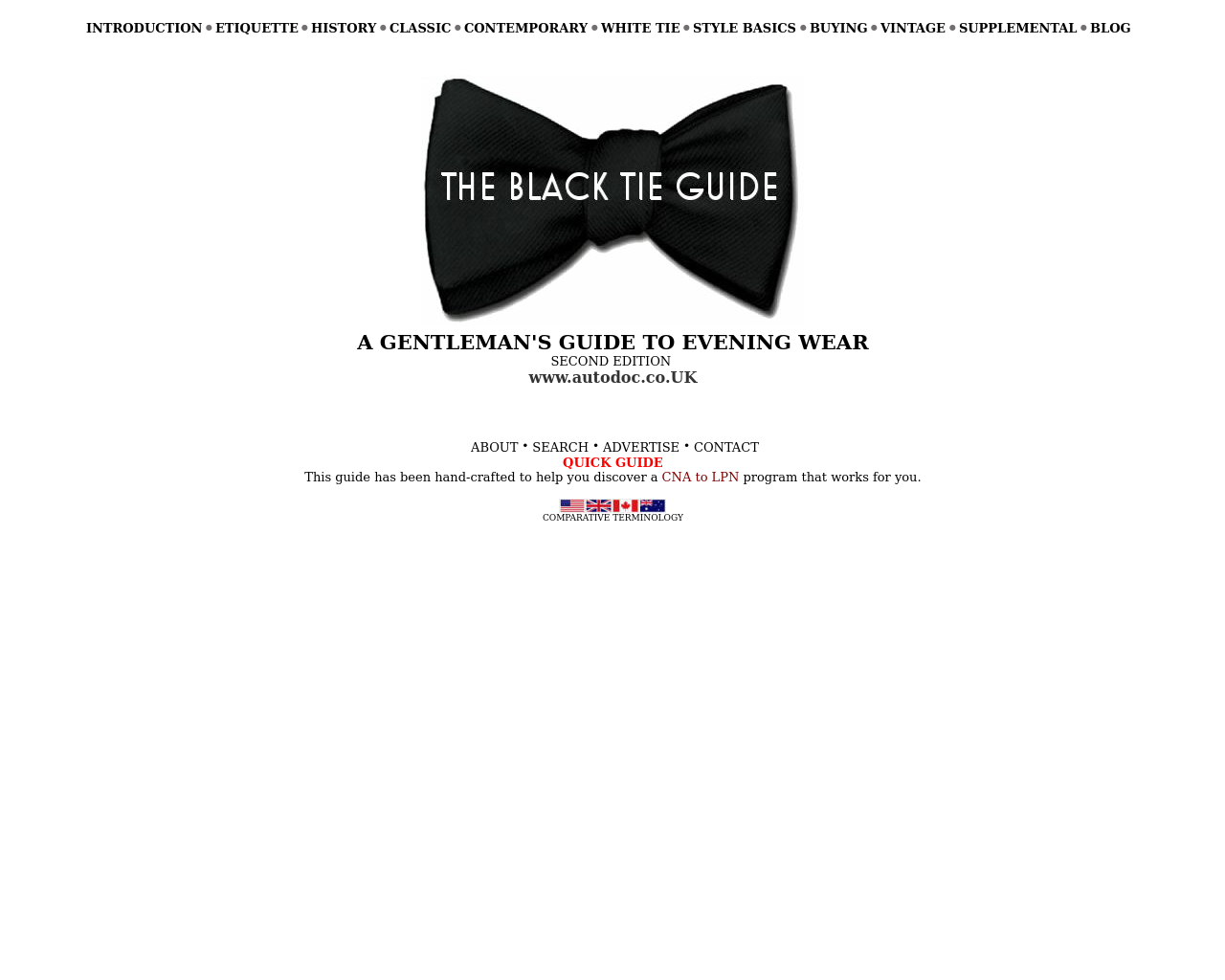 THE-BLACK-TIE-GUIDE-Advertising-Reviews-Pricing