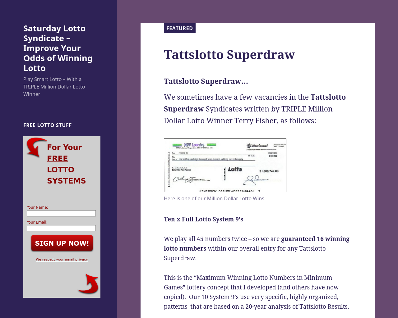 Saturday-Lotto-Syndicate-Advertising-Reviews-Pricing