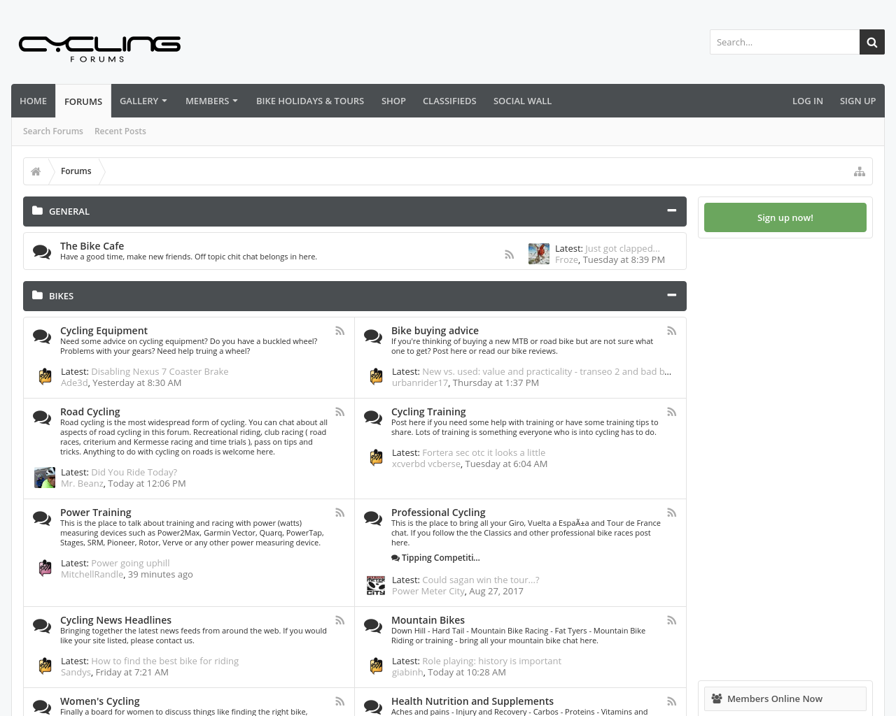 Cycling-Forums-Advertising-Reviews-Pricing