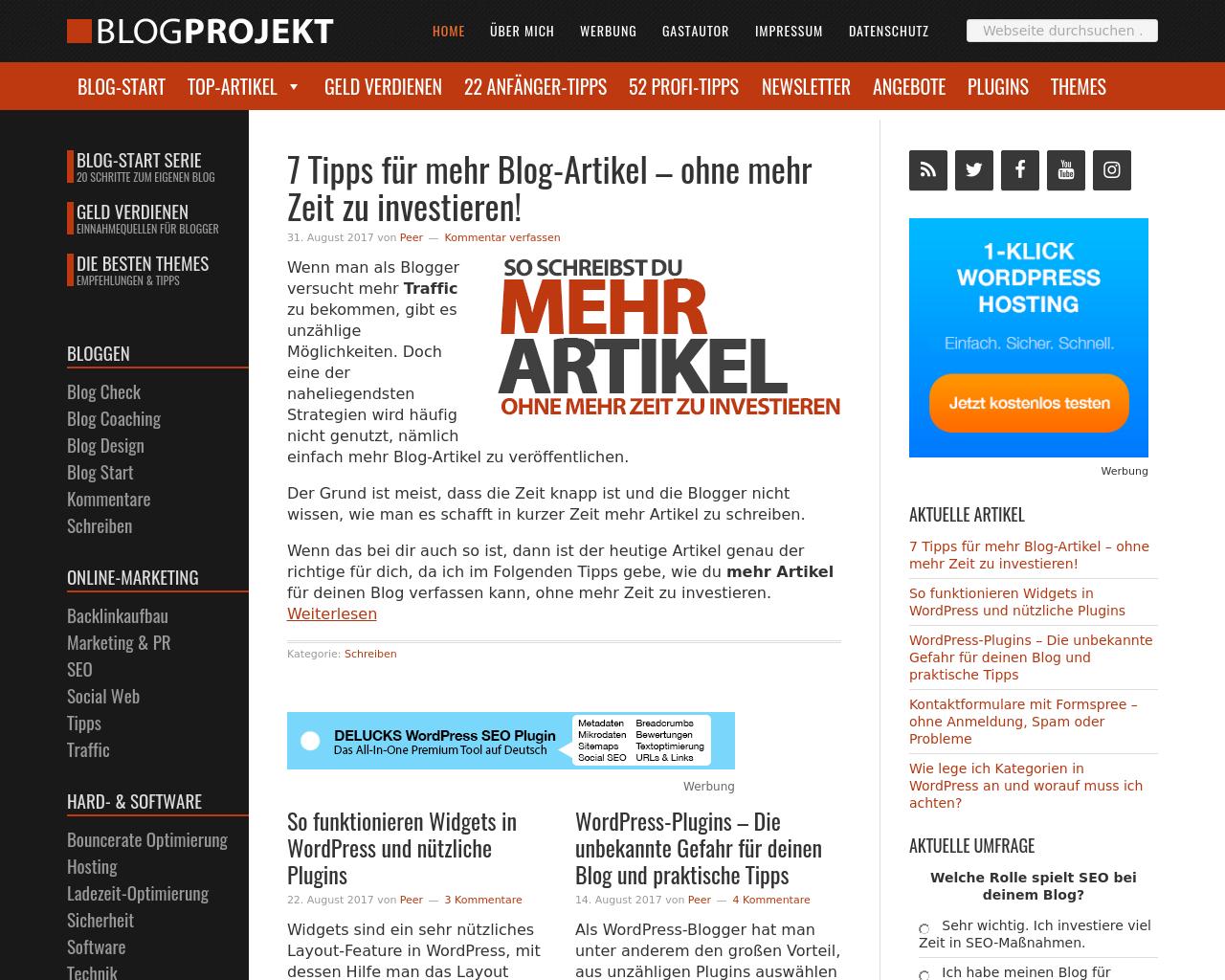 BlogProjekt-Advertising-Reviews-Pricing