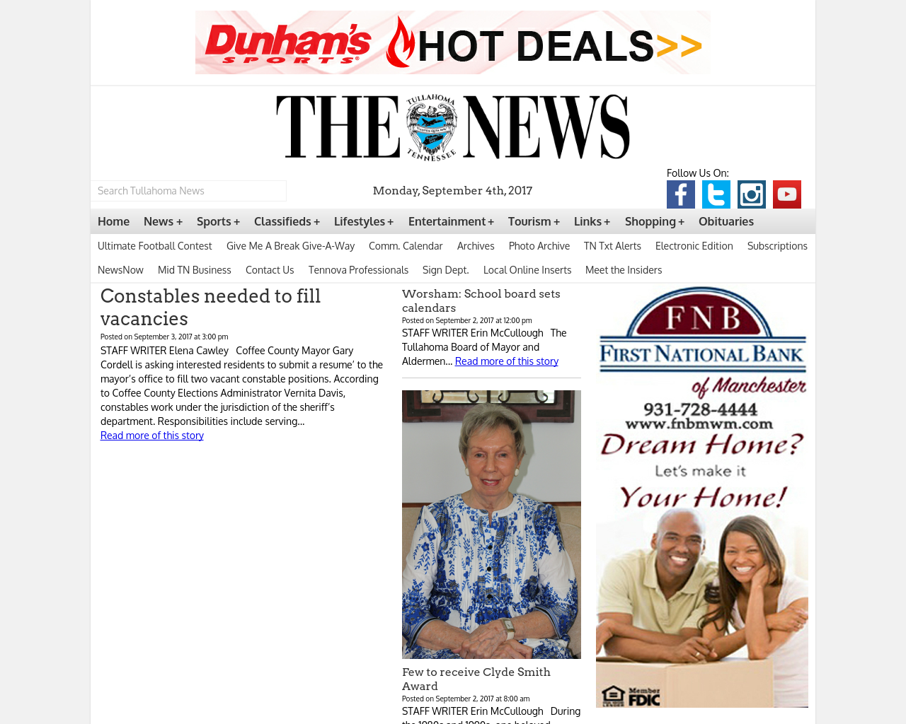 Tullahoma-News-Advertising-Reviews-Pricing