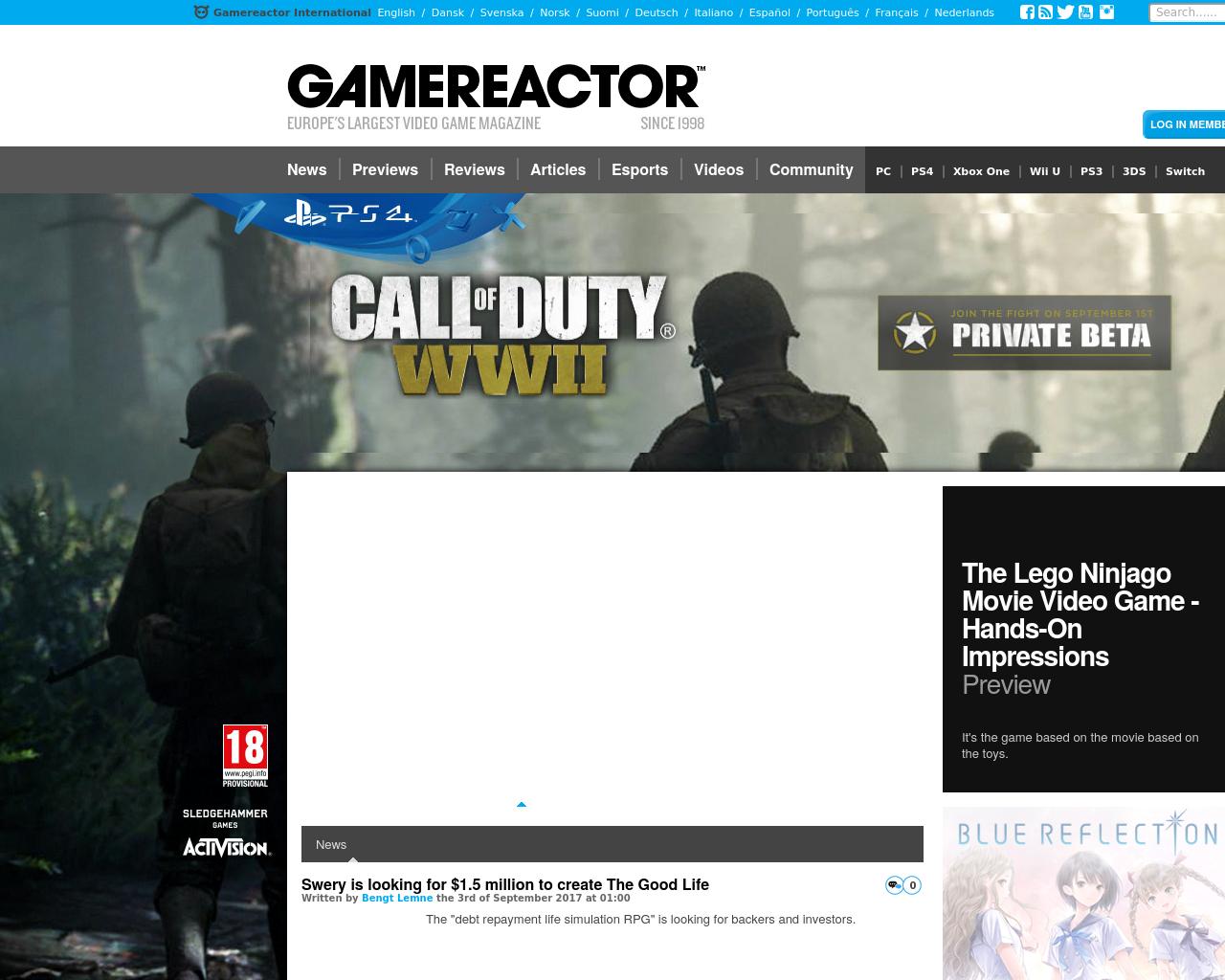 Gamereactor.co.uk-Advertising-Reviews-Pricing