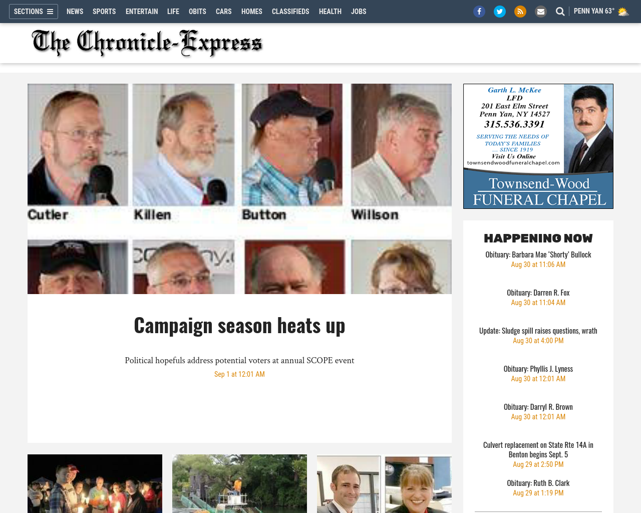 The-Chronicle-Express-Advertising-Reviews-Pricing