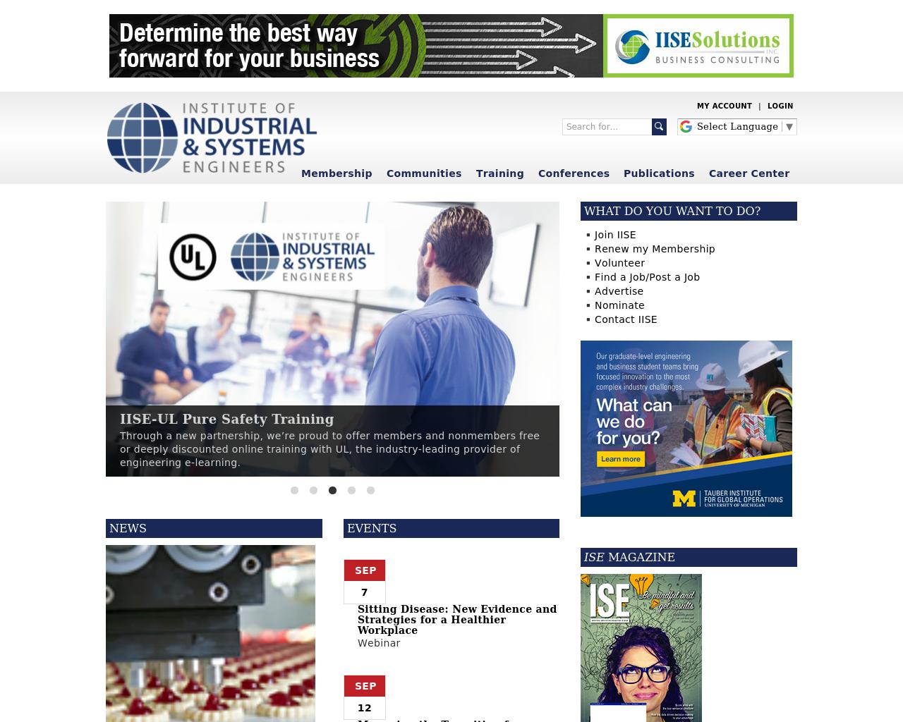 IIE-(Institute-Of-Industrial-Engineers)-Advertising-Reviews-Pricing