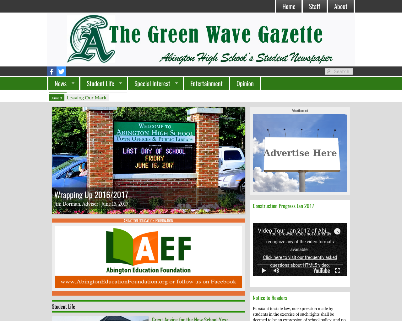 The-Green-Wave-Gazette-Advertising-Reviews-Pricing