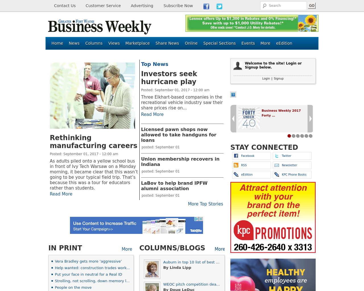 Greater-Fort-Wayne-Business-Weekly-Advertising-Reviews-Pricing