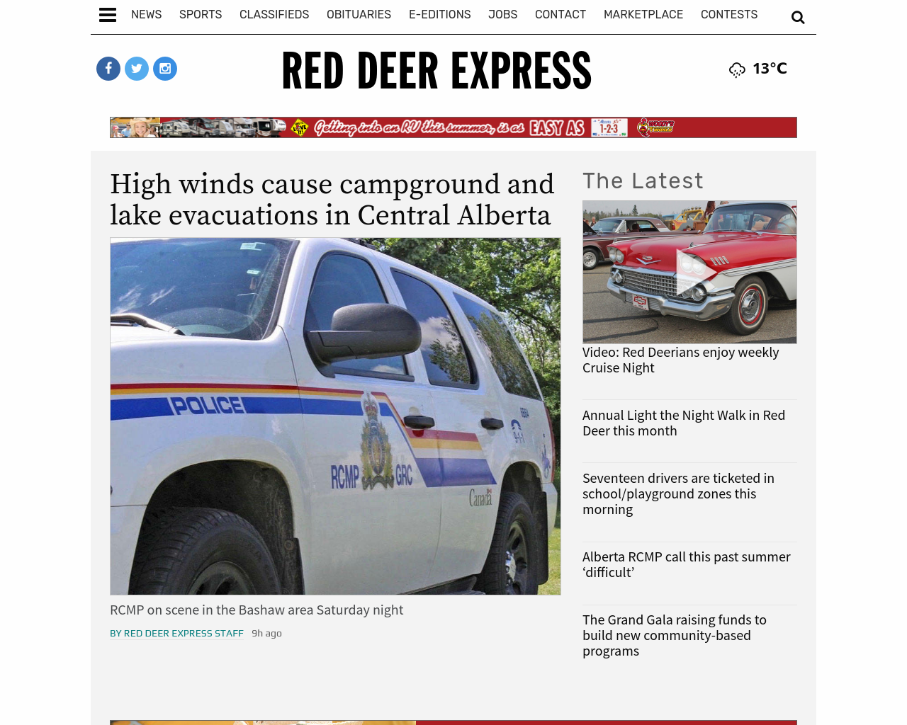 Red-Deer-Express-Advertising-Reviews-Pricing