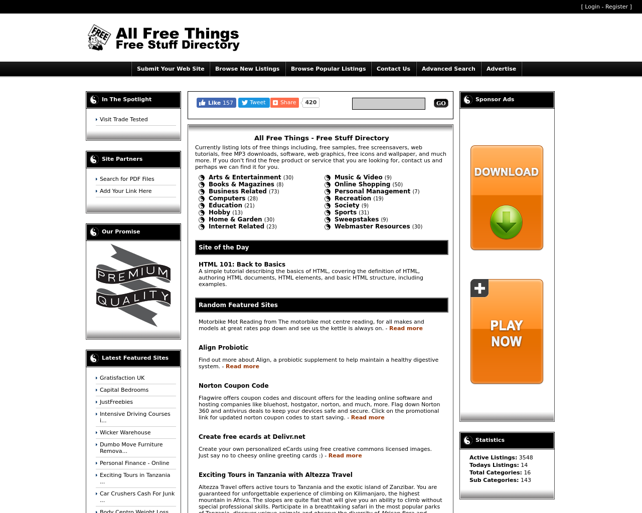 Allfreethings.com-Advertising-Reviews-Pricing