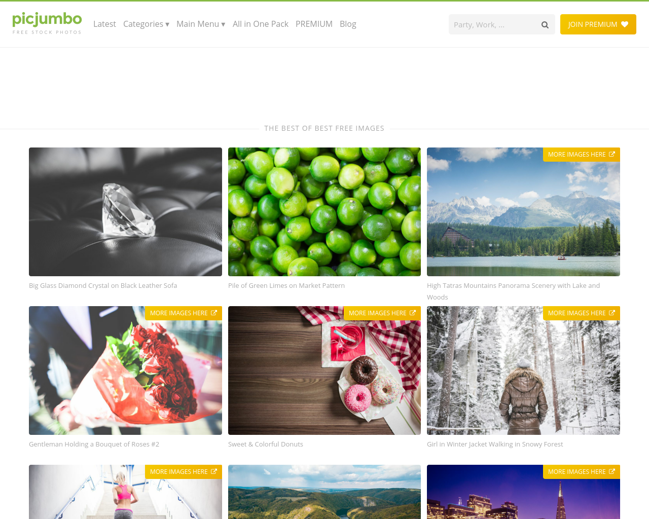 Picjumbo---TOP-Free-Photos-Advertising-Reviews-Pricing