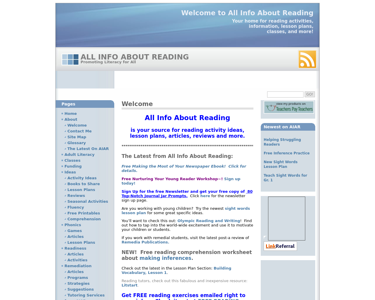 Allinfoaboutreading.com-Advertising-Reviews-Pricing