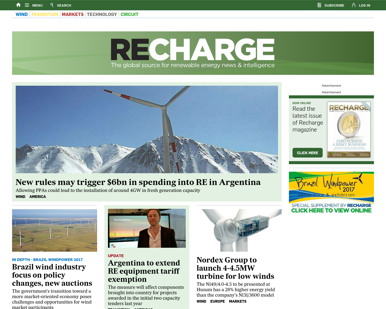 Recharge-News-Advertising-Reviews-Pricing