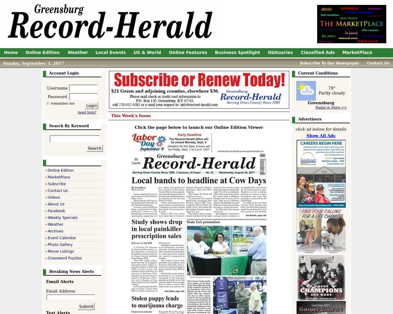 Greensburg-Record-Herald-Advertising-Reviews-Pricing