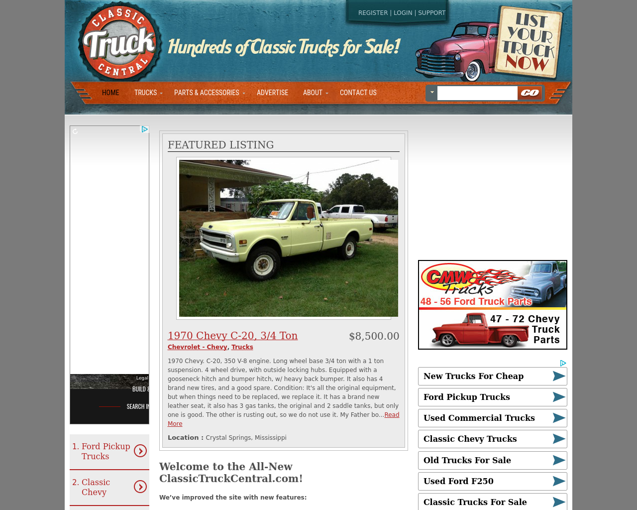 Classic-Truck-Central-Advertising-Reviews-Pricing