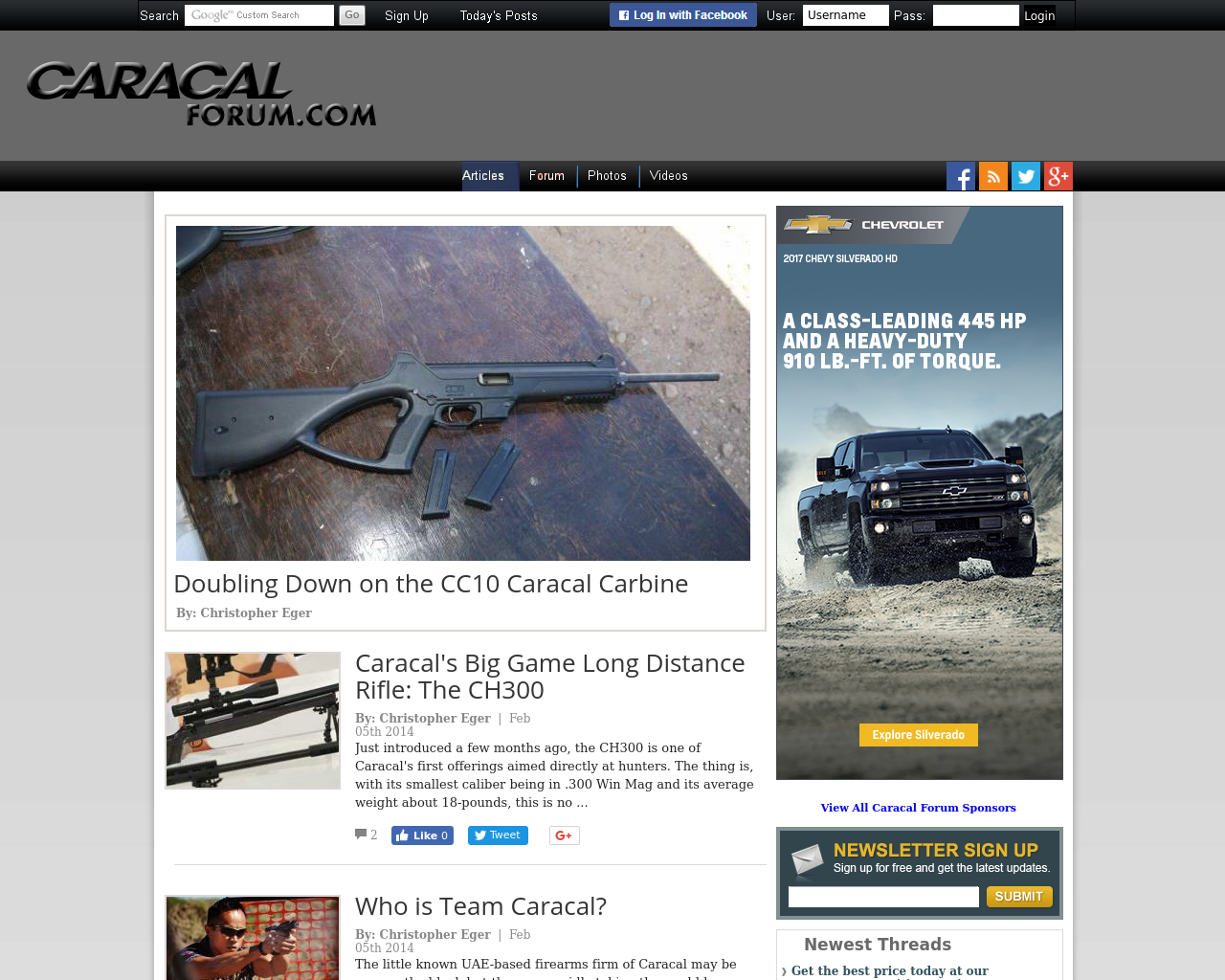 Caracal-Forum-Advertising-Reviews-Pricing