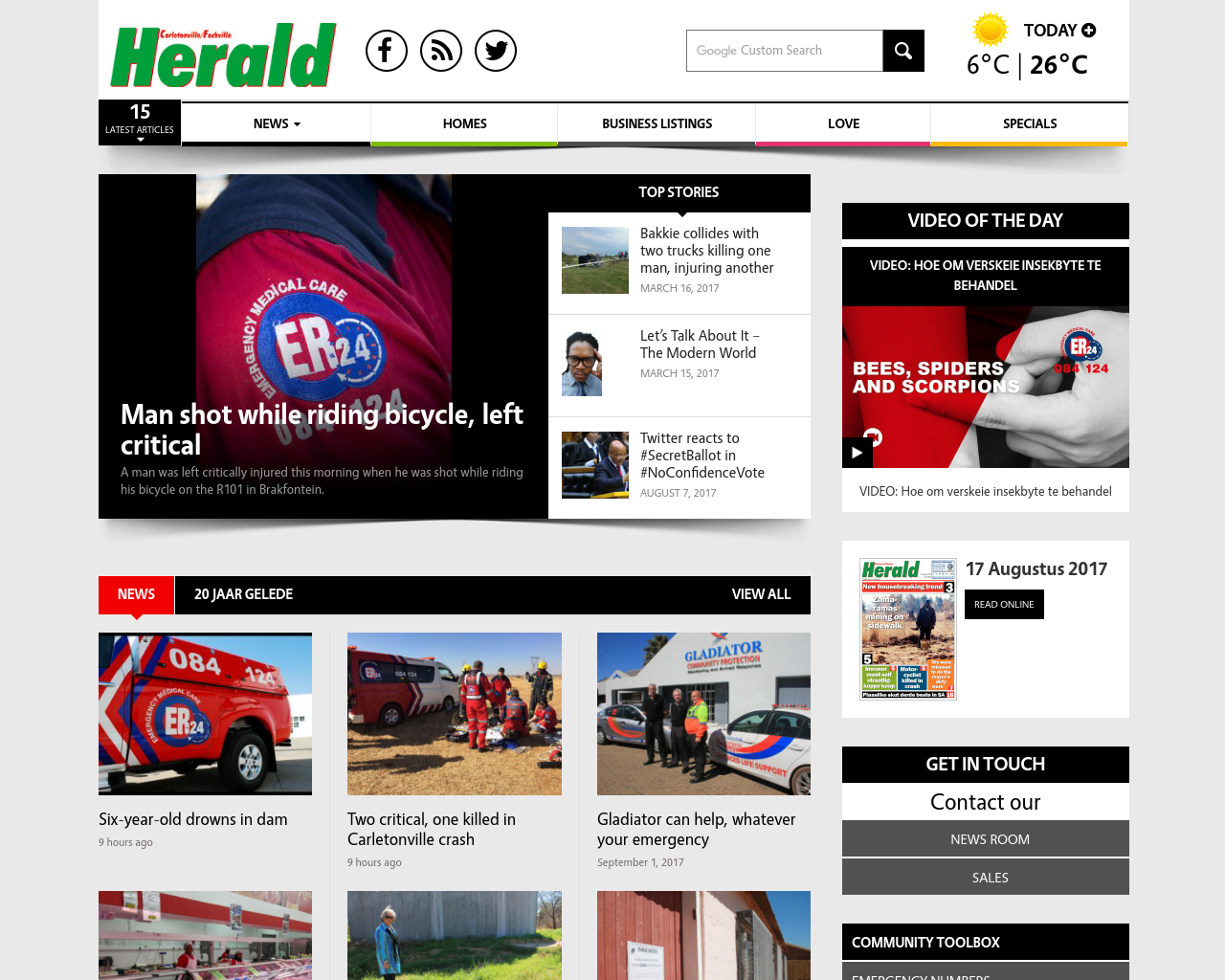 Carletonville-Herald-Advertising-Reviews-Pricing