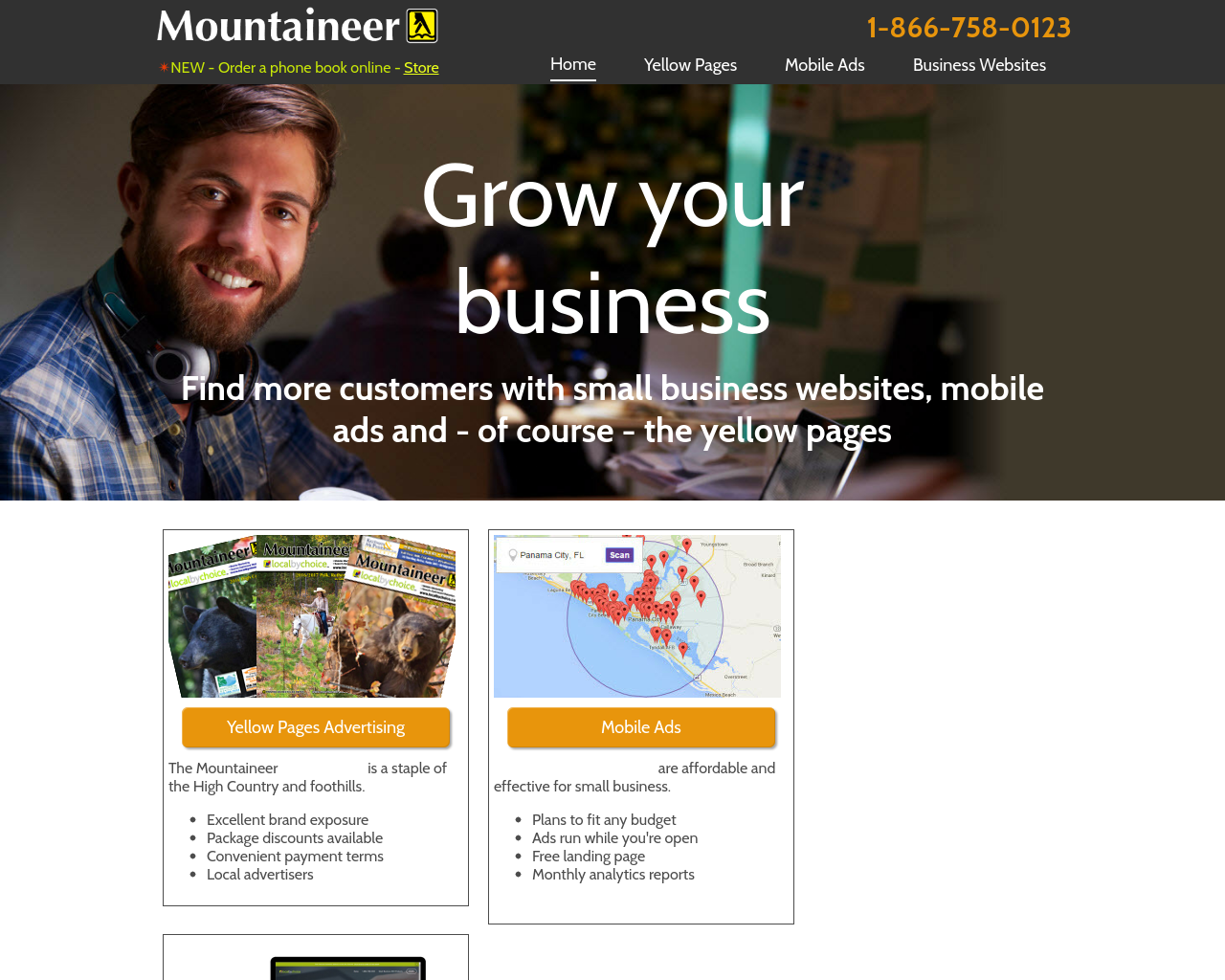 Mountaineer-Yellow-Pages,-Online-and-Mobile-Marketing-Advertising-Reviews-Pricing