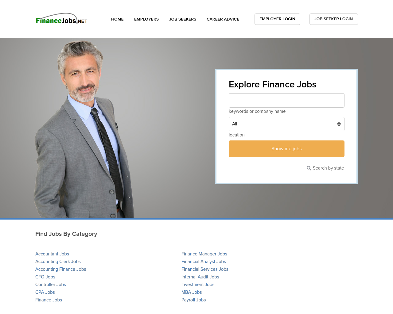 Finance-Jobs-Advertising-Reviews-Pricing