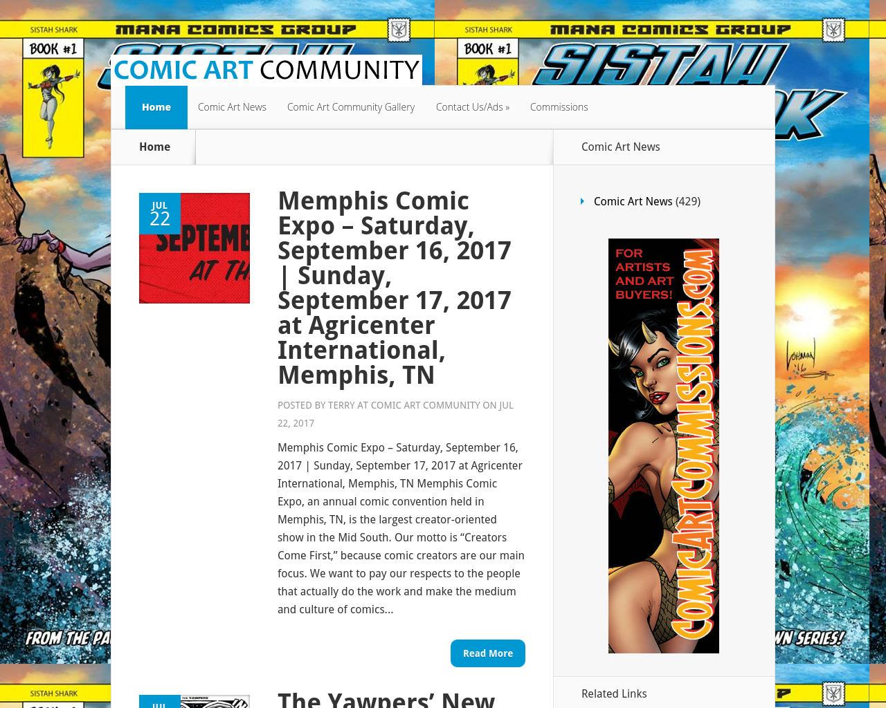 Comic-Art-Community-Advertising-Reviews-Pricing