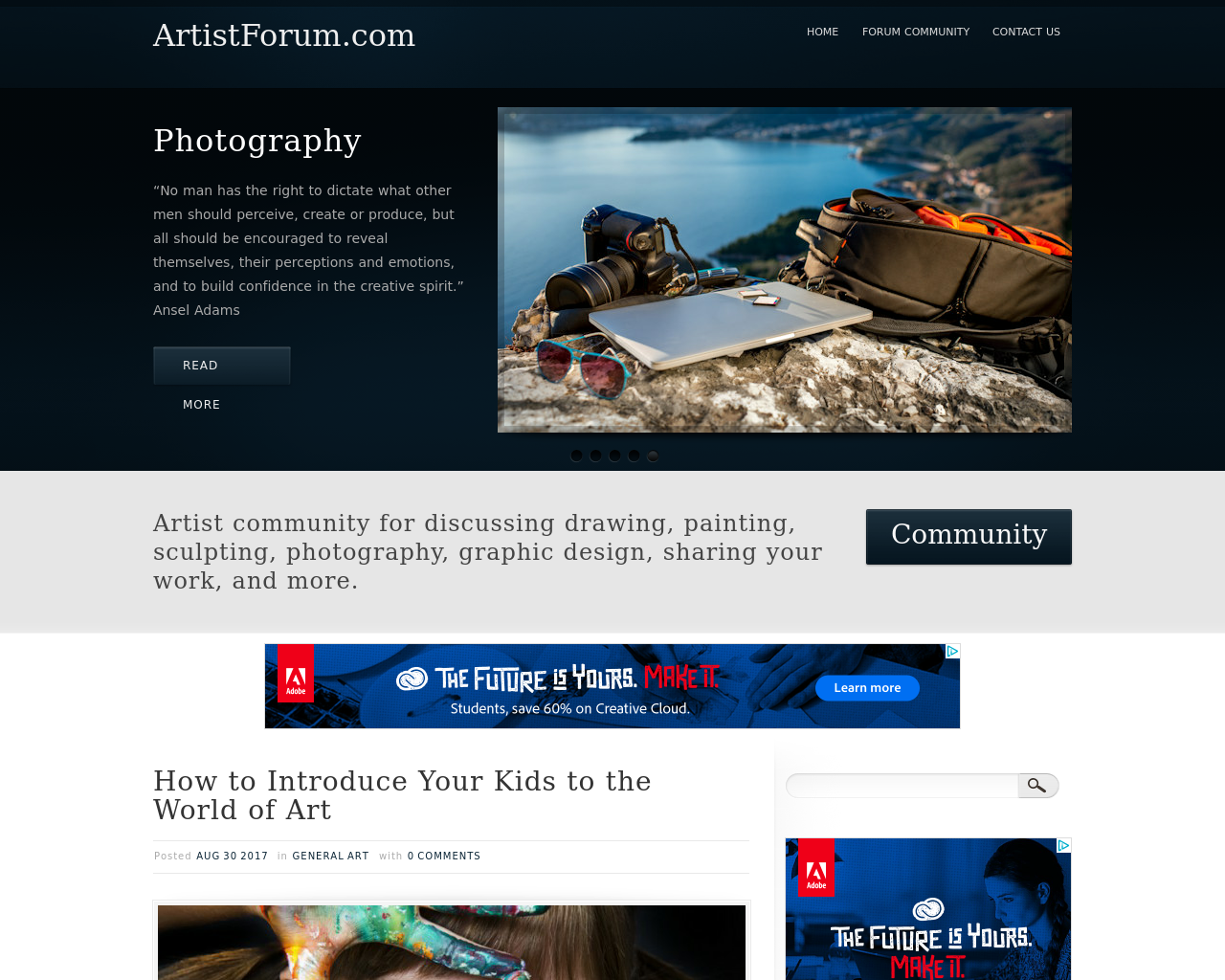 ArtistForum.com-Advertising-Reviews-Pricing