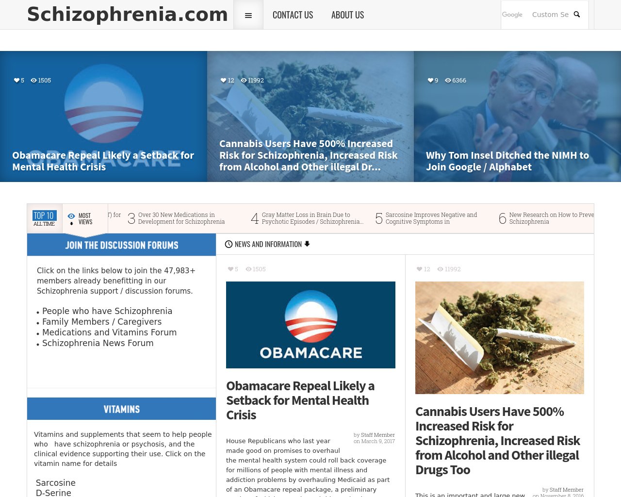 Schizophrenia-Advertising-Reviews-Pricing