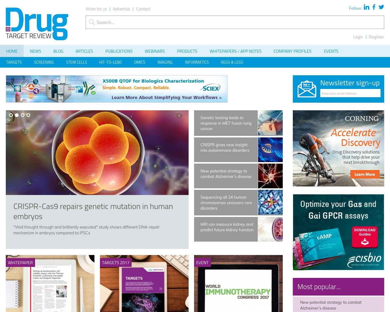 European-Drug-Target-Review-Advertising-Reviews-Pricing