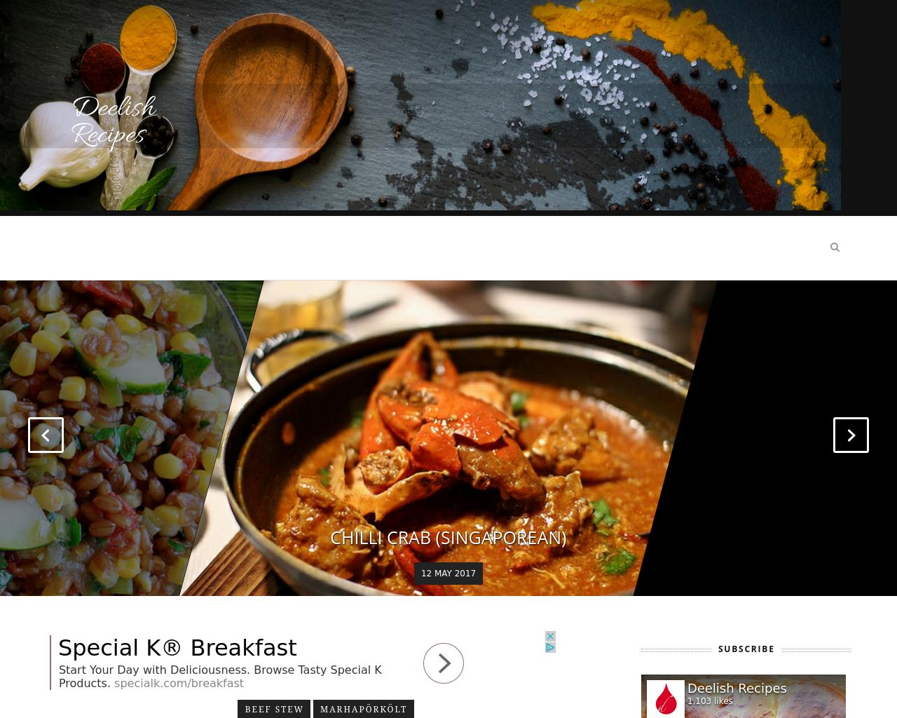 Deelish-Recipes-Advertising-Reviews-Pricing
