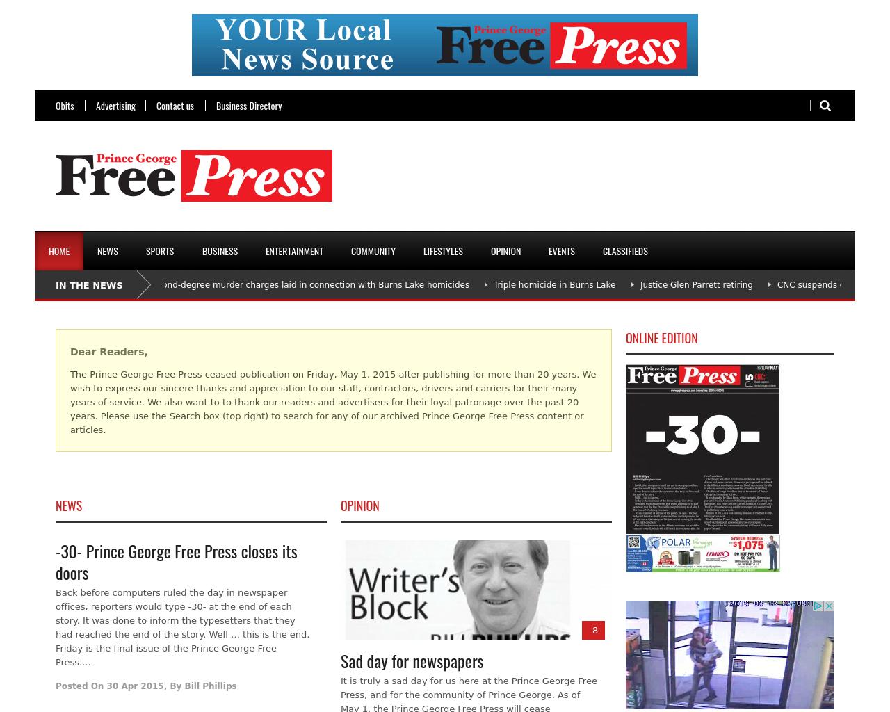 Prince-George-Free-Press-Advertising-Reviews-Pricing