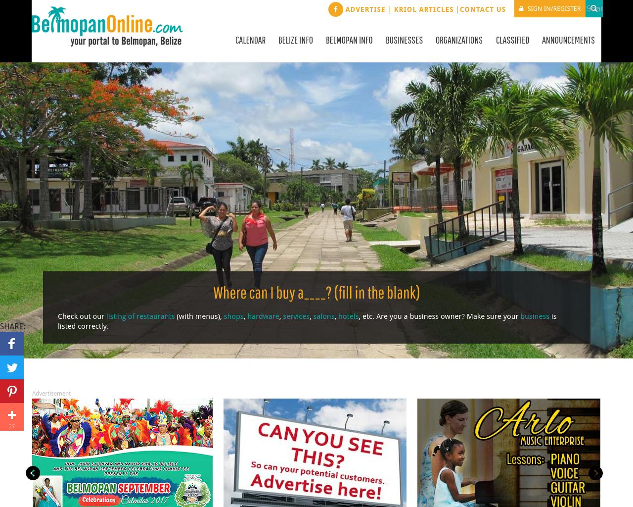 BelmopanCityOnline.com-Advertising-Reviews-Pricing