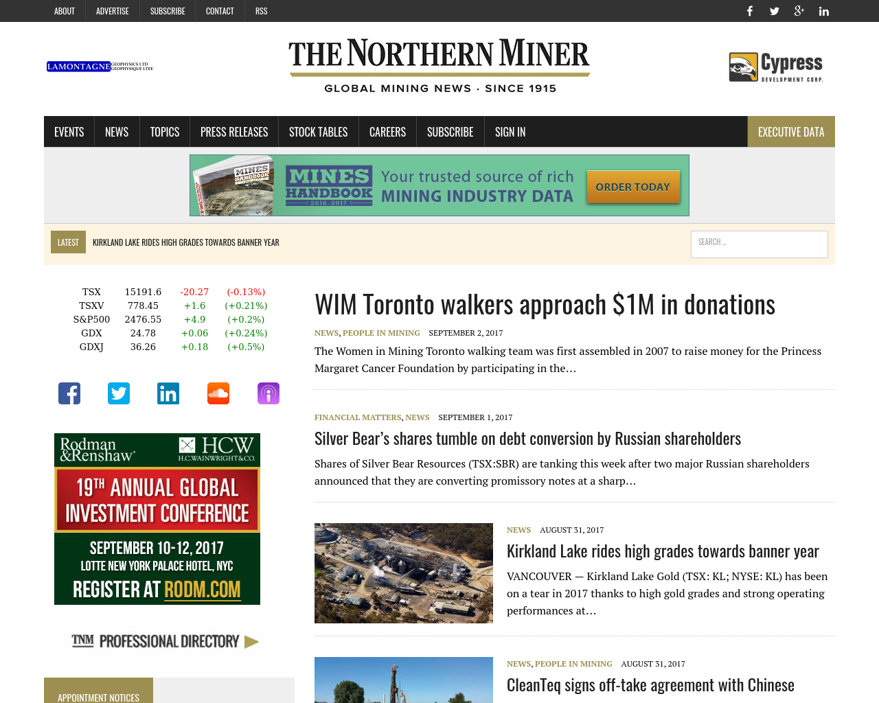 The-Northern-Miner-Advertising-Reviews-Pricing