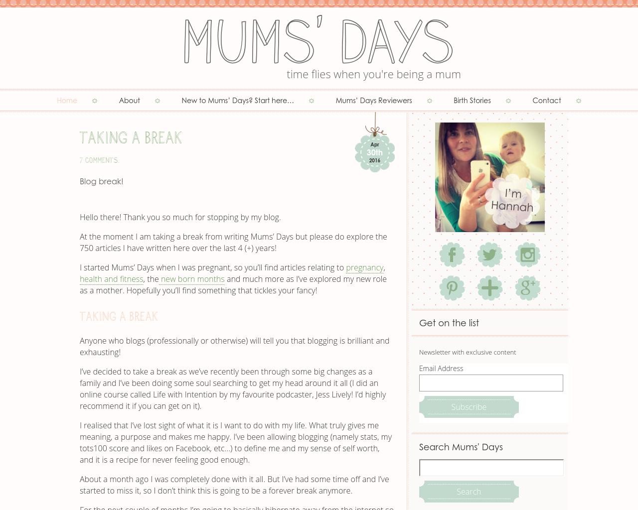 Mums'-Days-Advertising-Reviews-Pricing