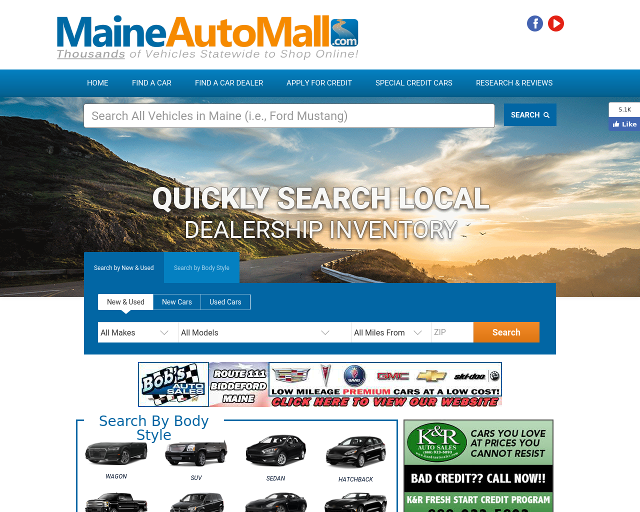 Maine Auto Mall >> Maine Auto Mall Advertising Mediakits Reviews Pricing Traffic