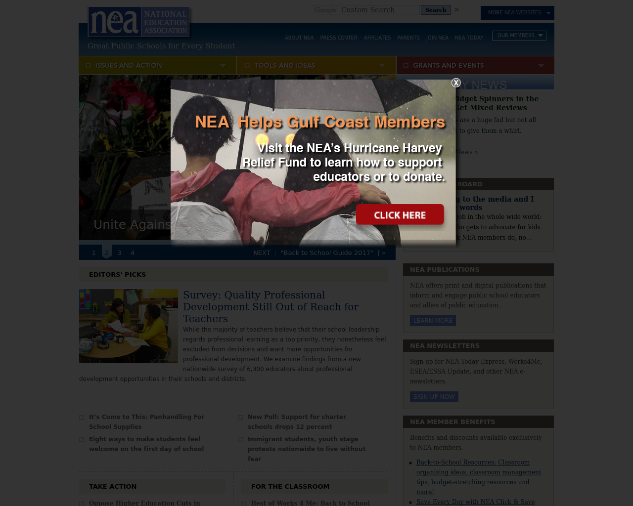 National-Education-Association-Advertising-Reviews-Pricing