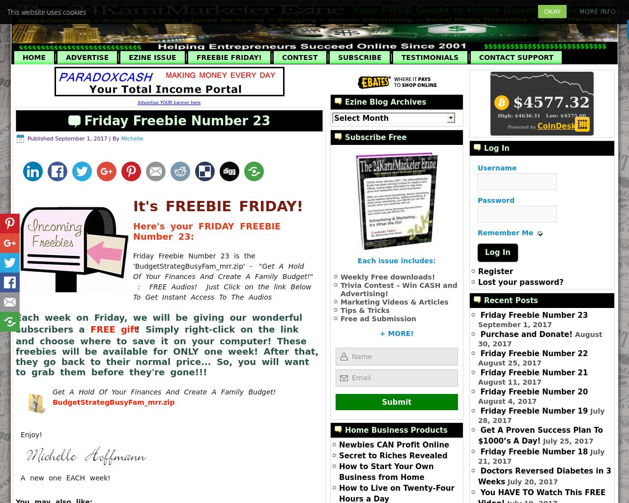 Free-24-Karat-Marketer-Advertising-Reviews-Pricing
