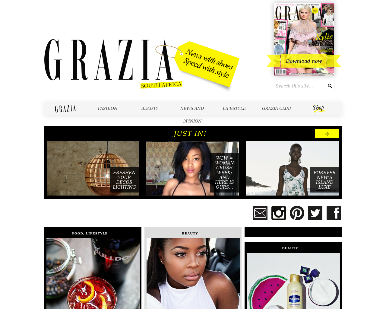 Grazia-South-Africa-Advertising-Reviews-Pricing