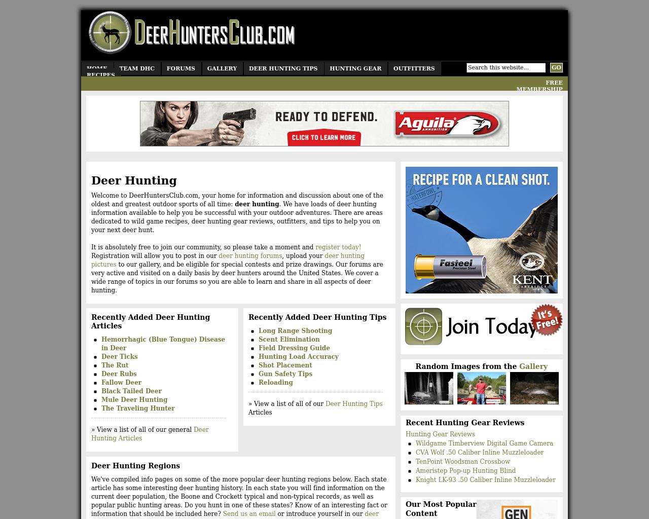 DeerHuntersClub.com-Advertising-Reviews-Pricing