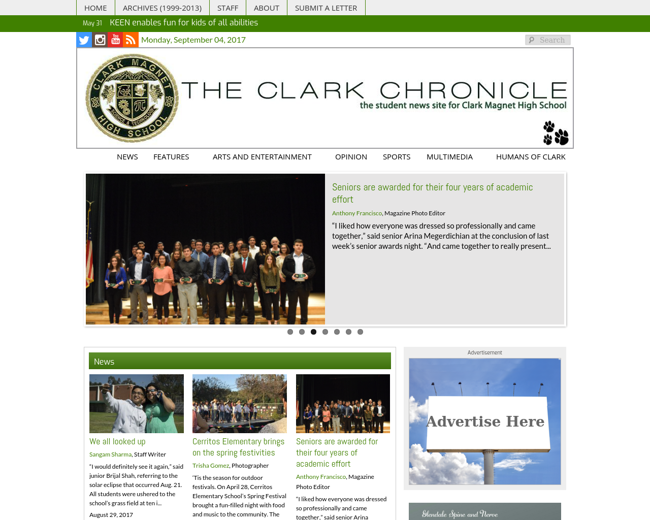 the-clark-chronicle-Advertising-Reviews-Pricing