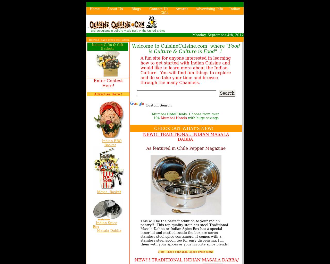 CuisineCuisine.com-Advertising-Reviews-Pricing
