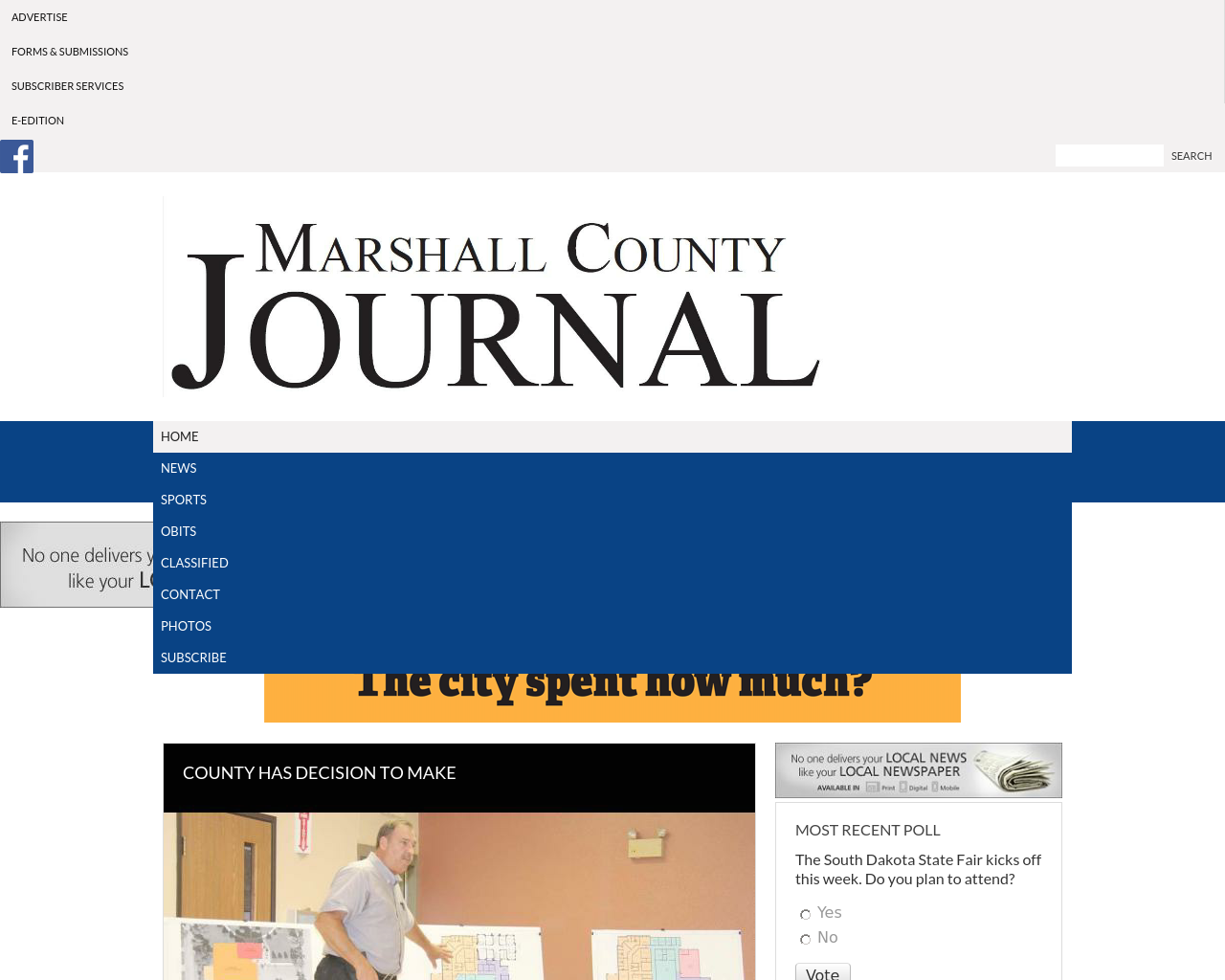 Marshall-County-Journal-Advertising-Reviews-Pricing