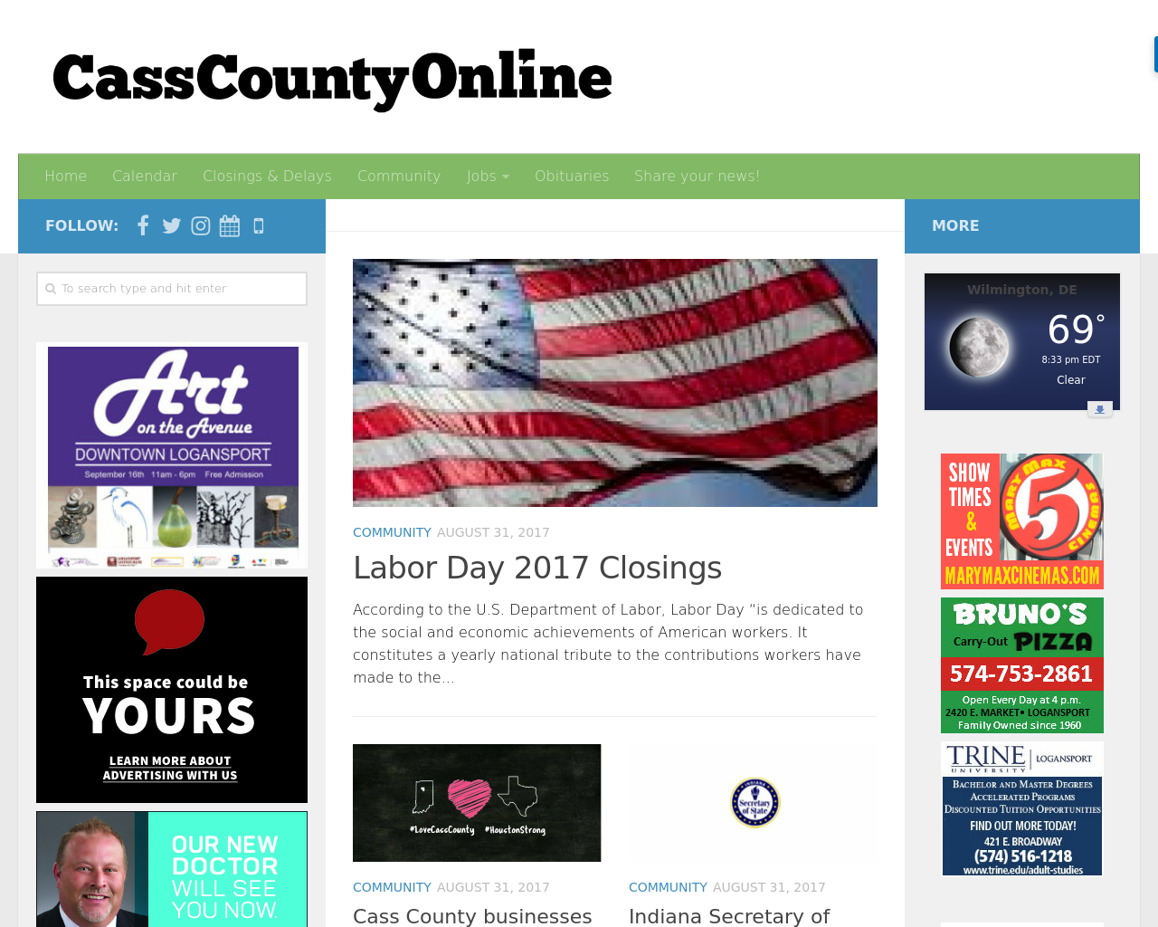 Casscountyonline-Advertising-Reviews-Pricing