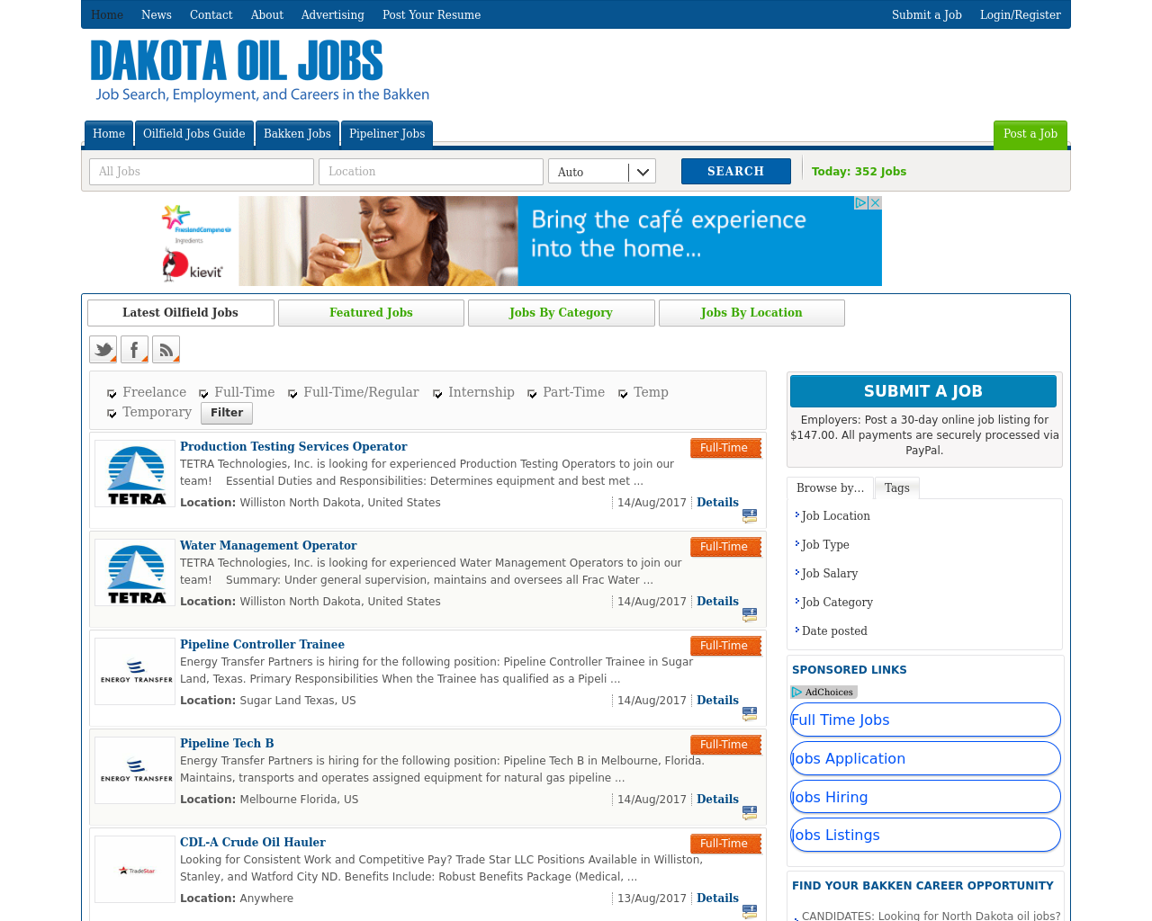 Dakota-Oil-Jobs-Advertising-Reviews-Pricing