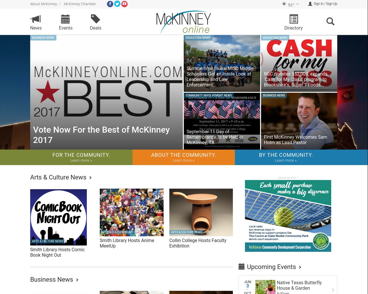 Mckinneyonline.com-Advertising-Reviews-Pricing