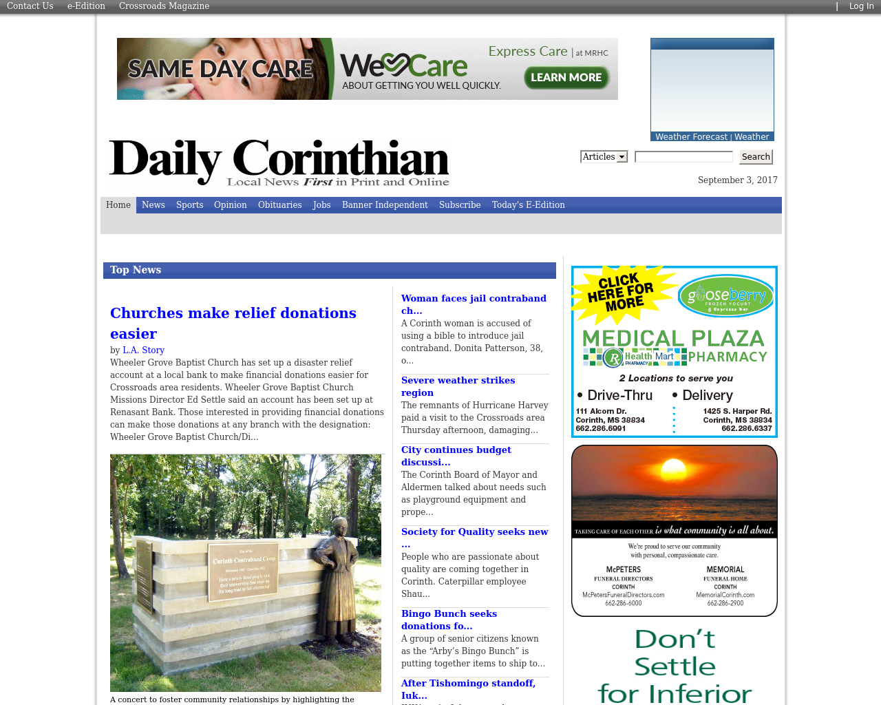 Daily-Corinthian-Advertising-Reviews-Pricing