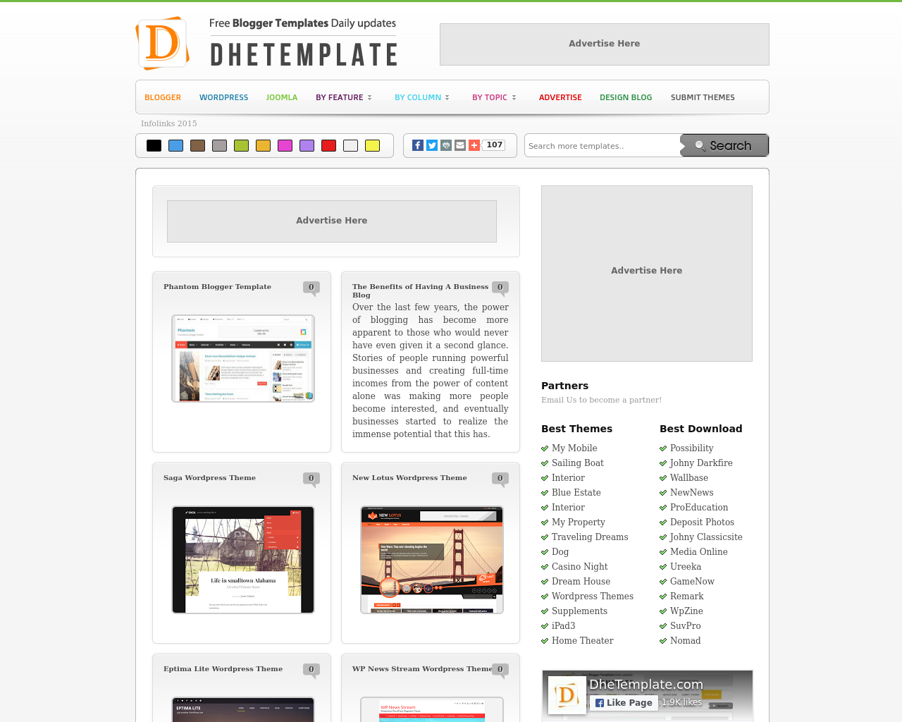 DHETemplate-Advertising-Reviews-Pricing