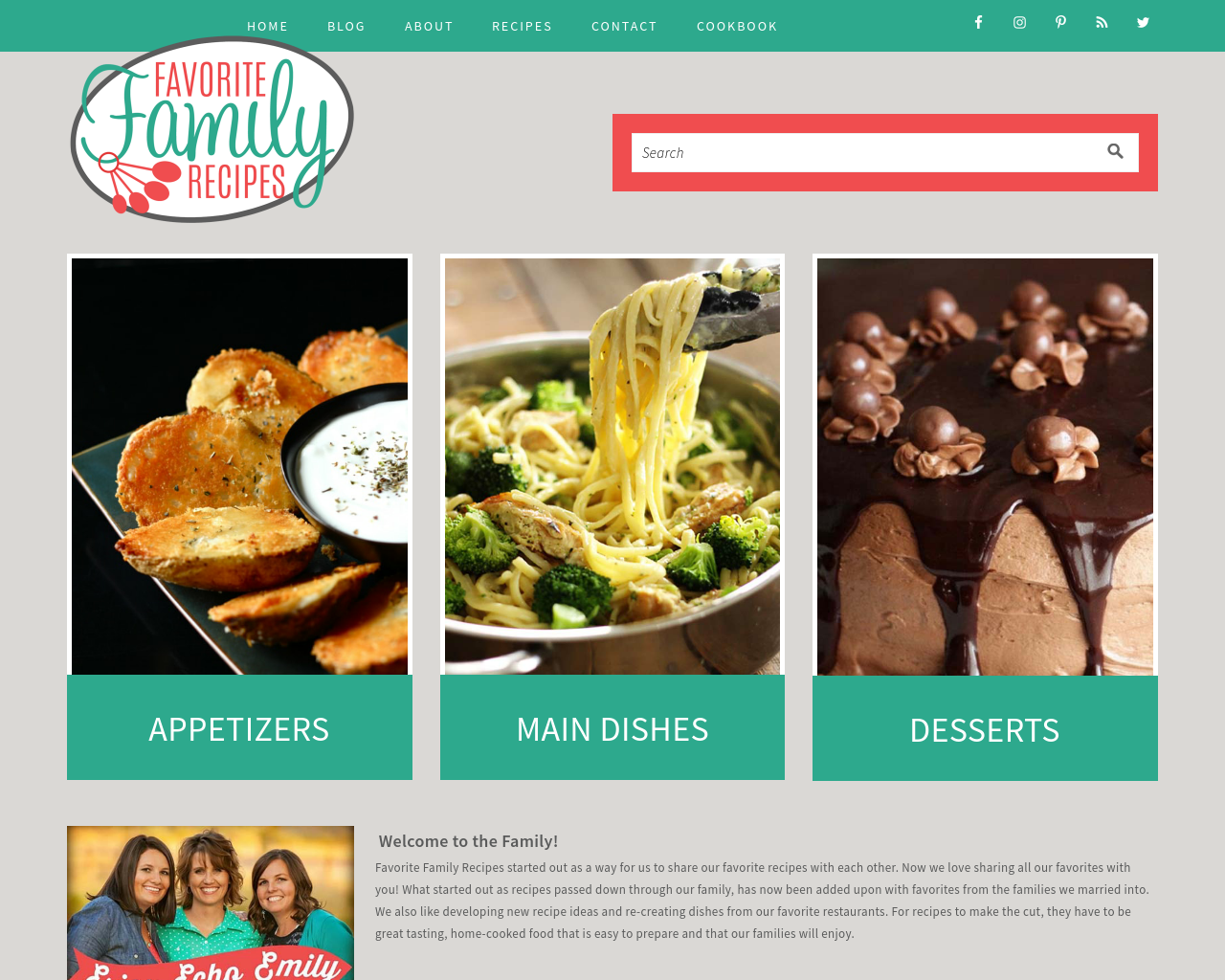 FAVORITE-FAMILY-RECIPES-Advertising-Reviews-Pricing